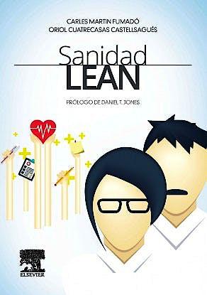 Portada del libro 9788490228272 Sanidad Lean