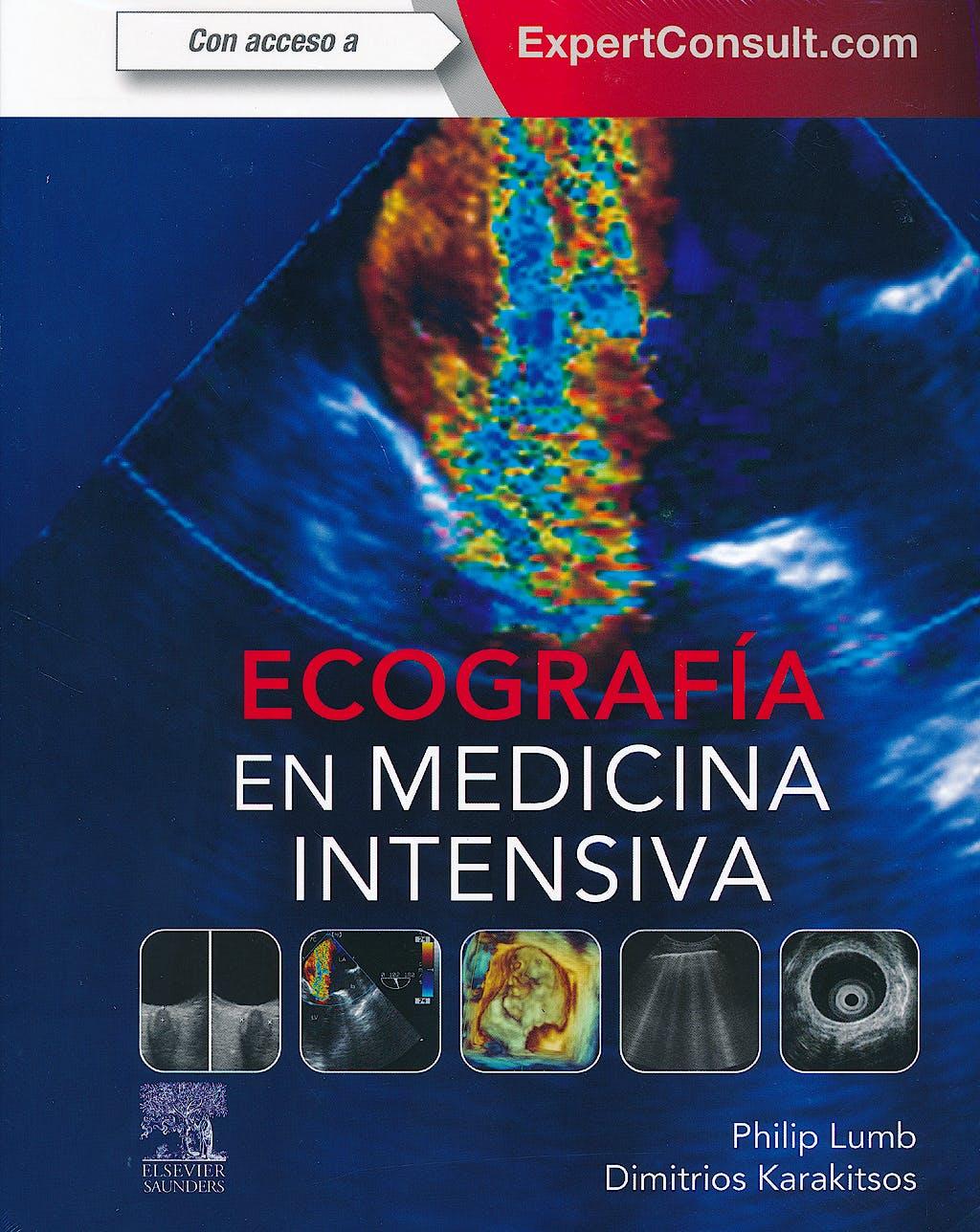 Portada del libro 9788490228685 Ecografía en Medicina Intensiva + Acceso Online