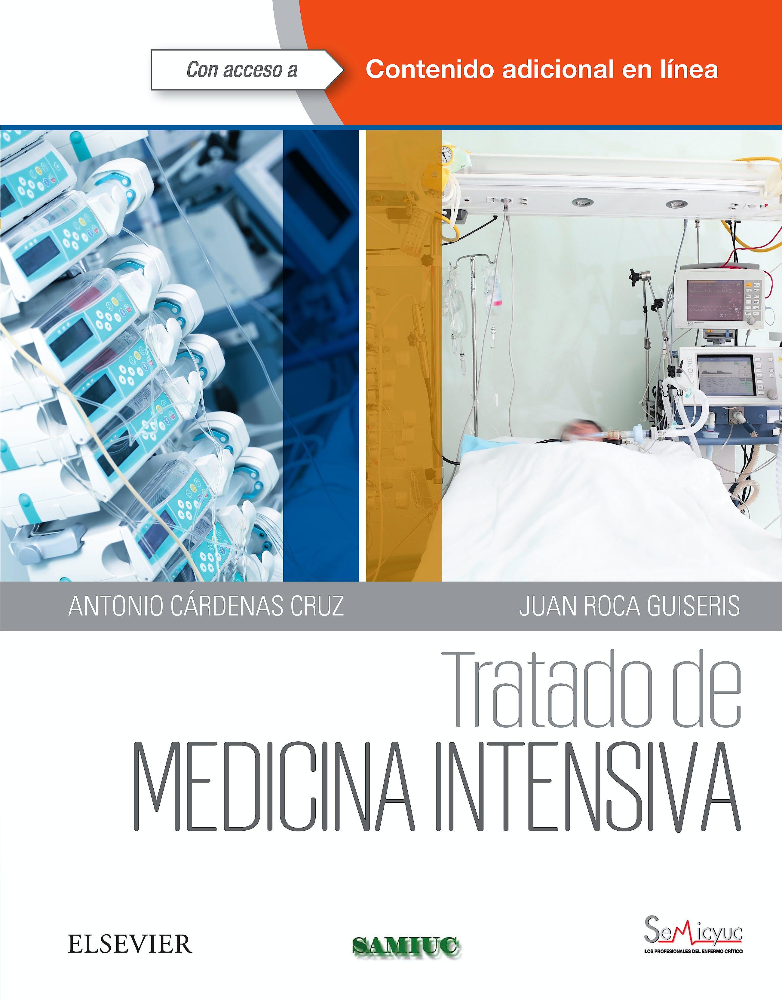 Portada del libro 9788490228968 Tratado de Medicina Intensiva