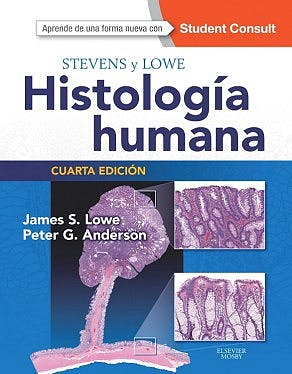 Portada del libro 9788490229064 Stevens y Lowe Histología Humana + Acceso Online