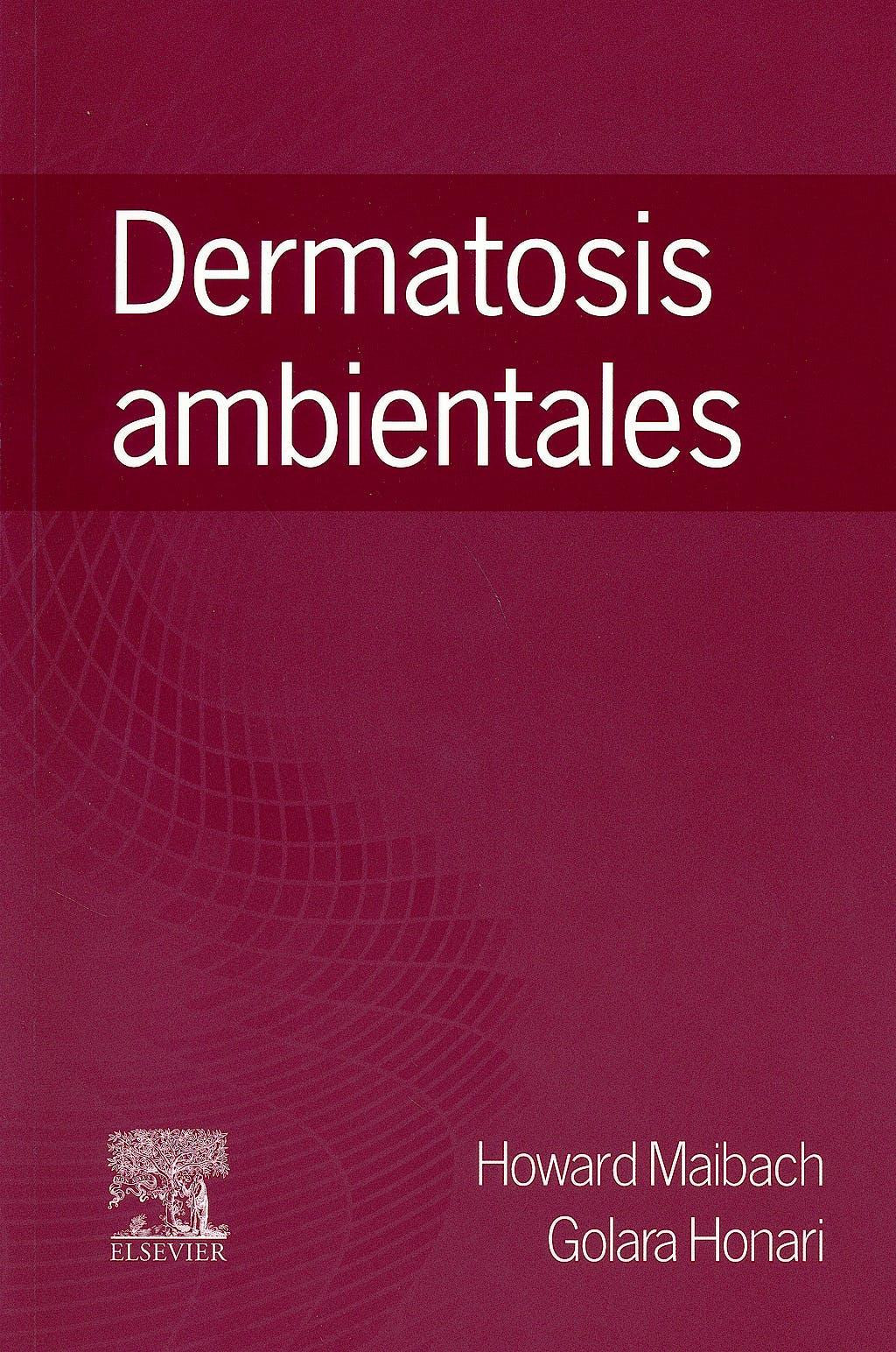 Portada del libro 9788490229187 Dermatosis Ambientales