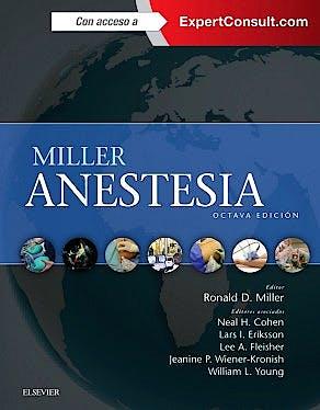 Portada del libro 9788490229279 Miller Anestesia, 2 Vols. + Acceso Online