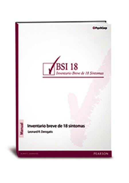 Portada del libro 9788490353615 BSI-18. Inventario Breve de 18 Síntomas (Juego Completo, Incluye: Manual y 25 Ejemplares Autocorregibles)