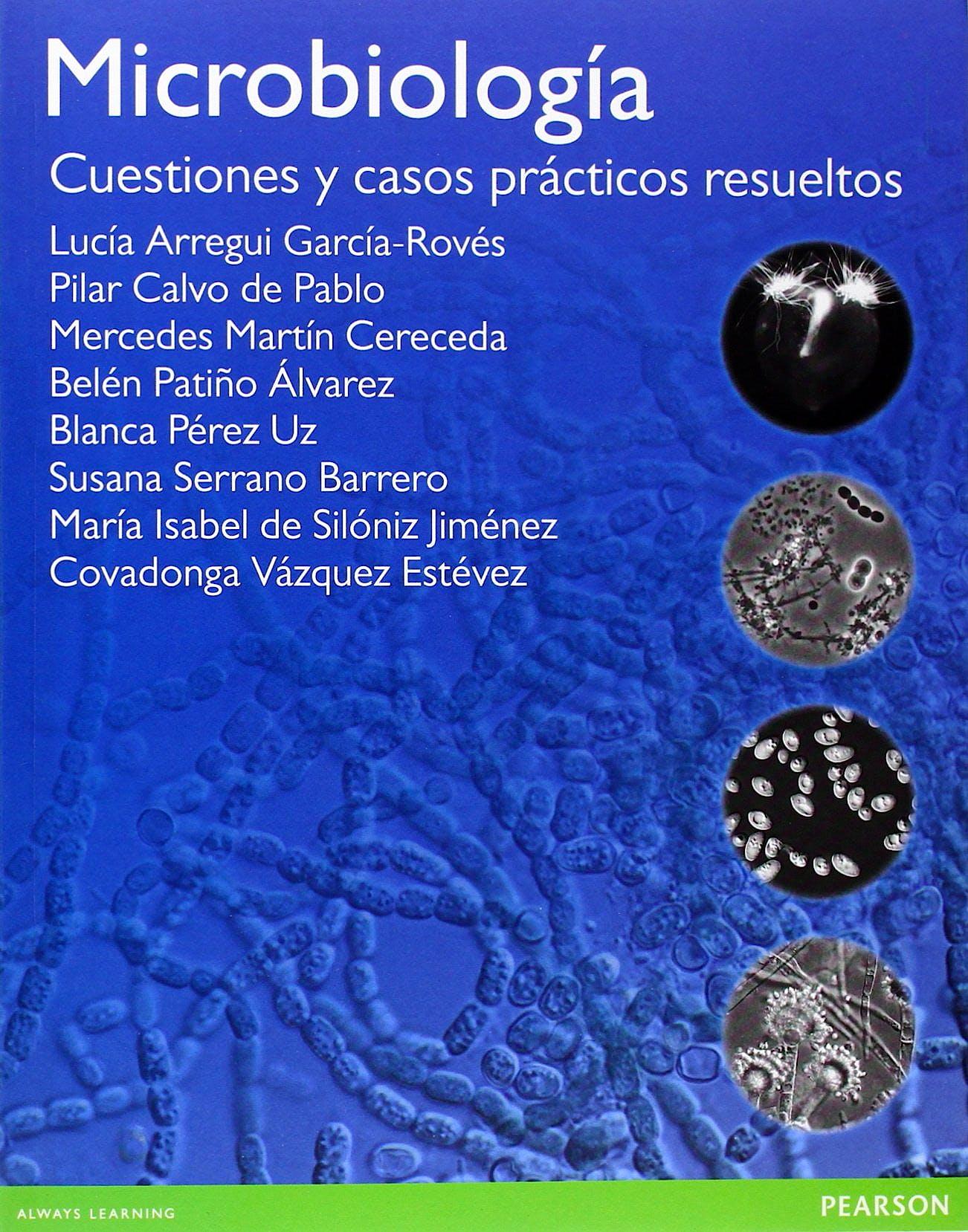 Portada del libro 9788490354599 Microbiologia. Cuestiones y Casos Practicos Resueltos