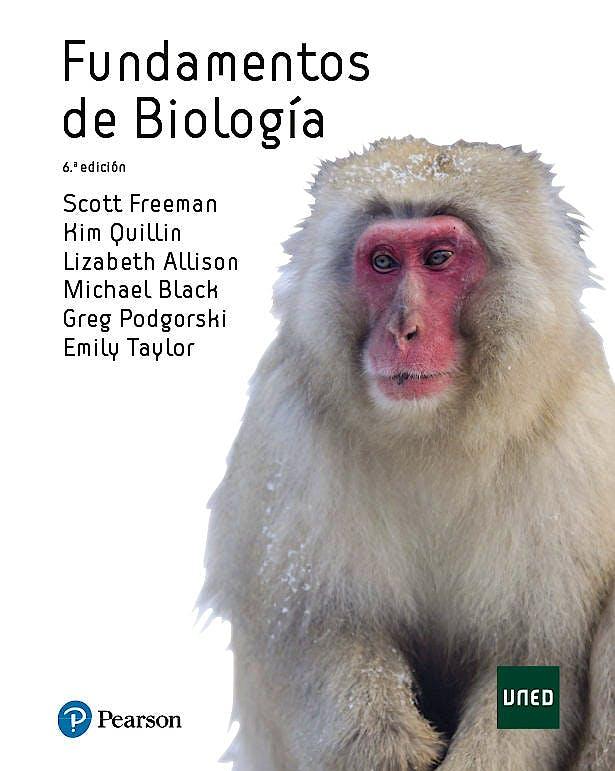 Portada del libro 9788490355763 Fundamentos de Biología