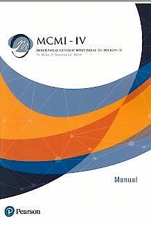 Portada del libro 9788490356173 MCMI-IV : Inventario Clínico Multiaxial de Millon-IV  (Libro)