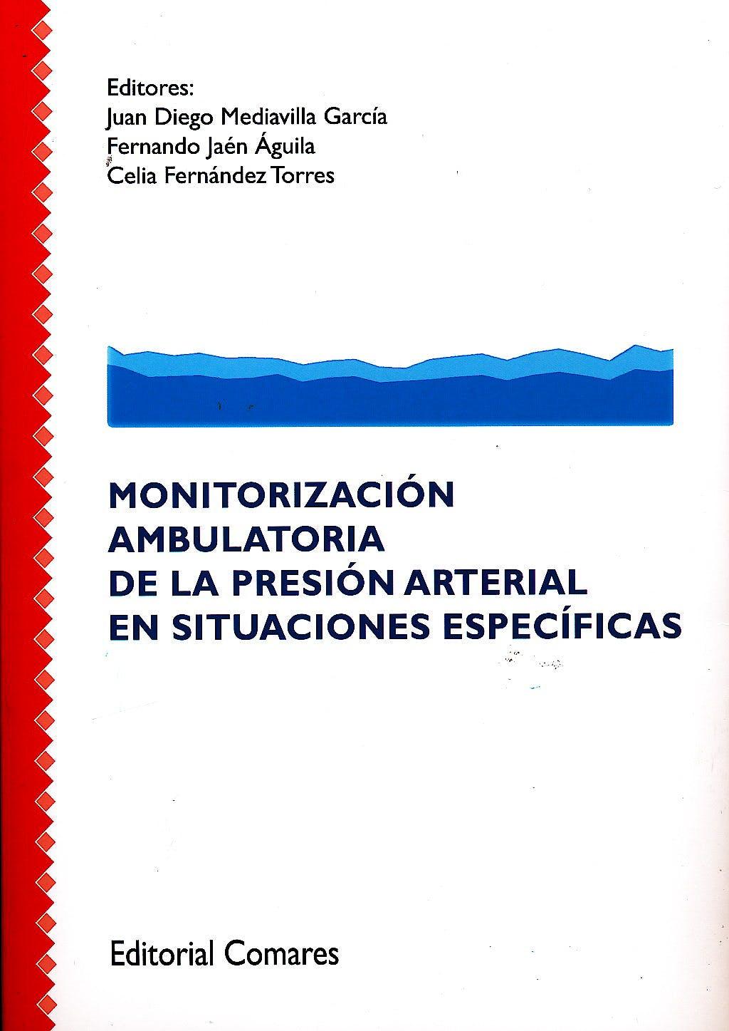 Portada del libro 9788490451038 Monitorizacion Ambulatoria de la Presion Arterial en Situaciones Especificas