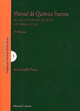 Portada del libro 9788490455425 Manual de Química Forense