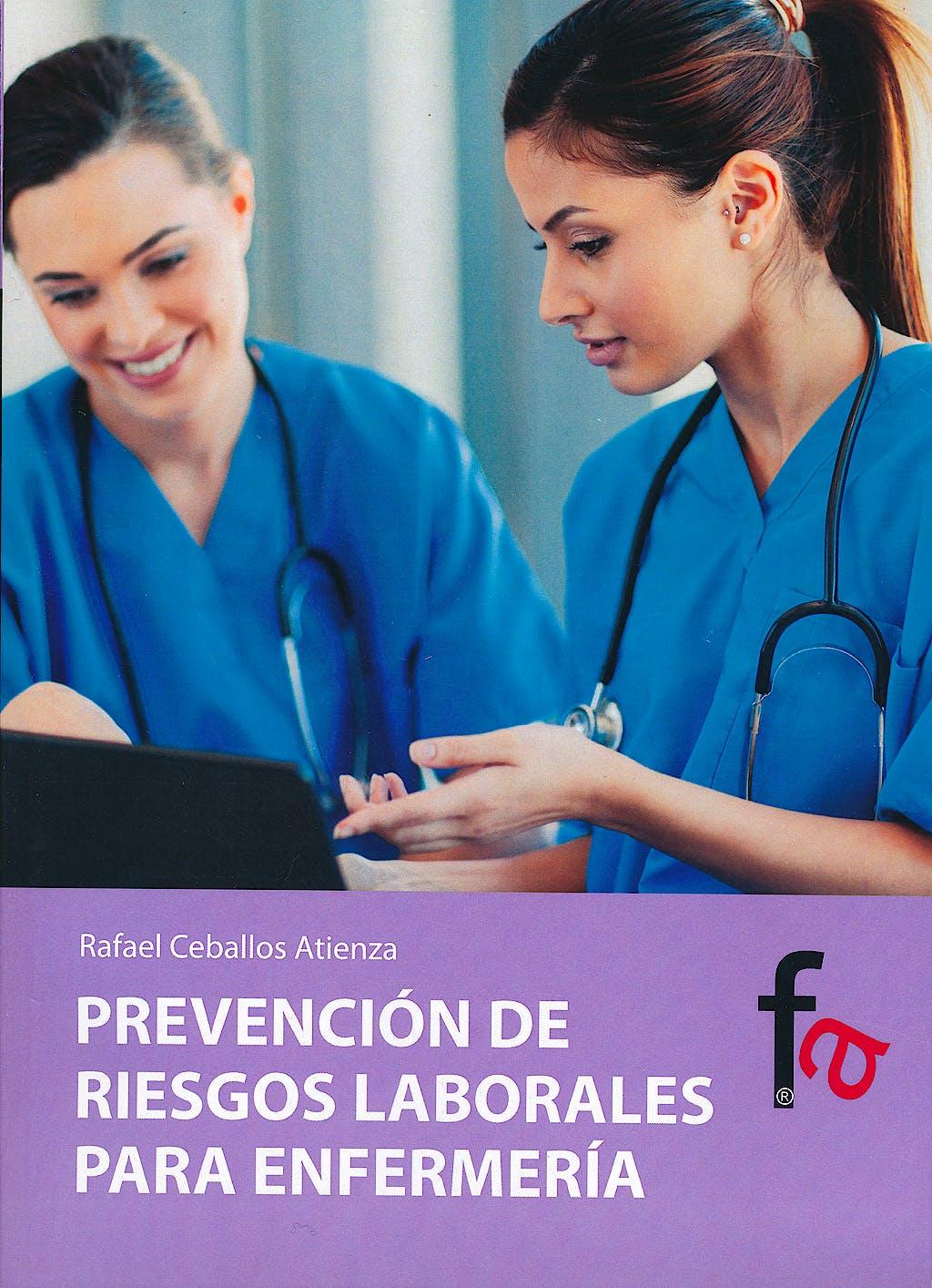 Portada del libro 9788490510186 Prevención de Riesgos Laborales para Enfermería