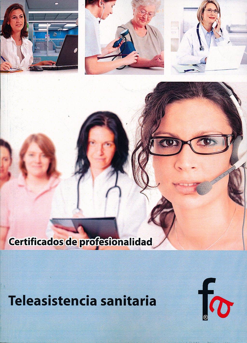 Portada del libro 9788490510711 Teleasistencia Sanitaria