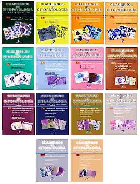 Portada del libro 9788490520475 Colección Completa de Cuadernos de Citopatología, 14 Volúmenes
