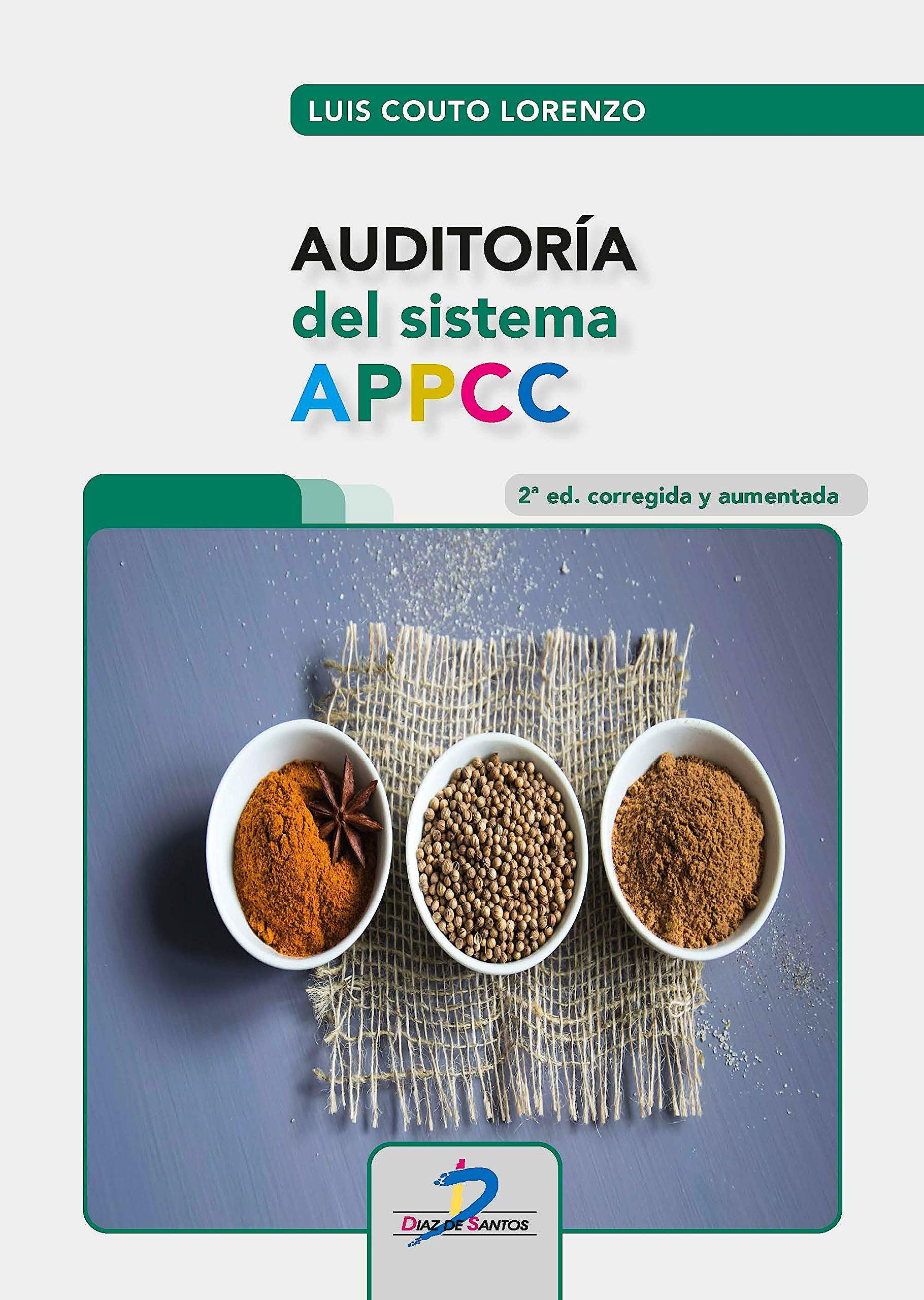 Portada del libro 9788490522486 Auditoría del Sistema APPCC