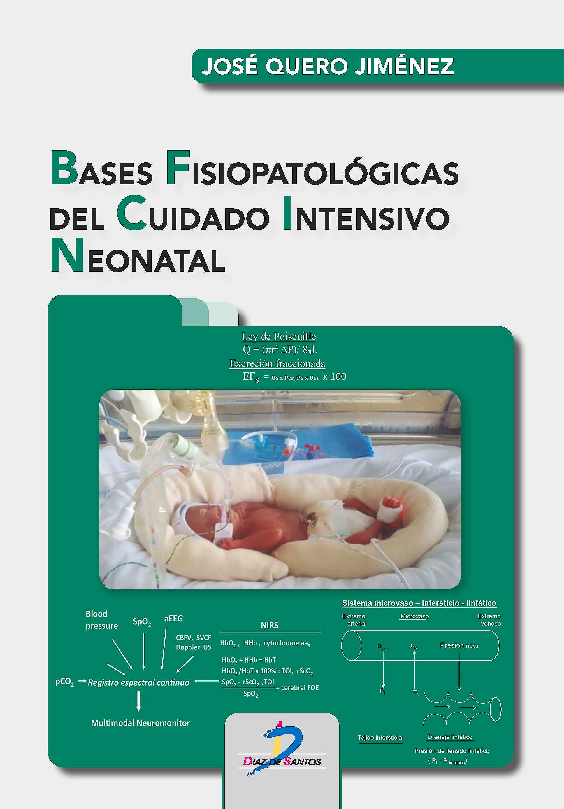 Portada del libro 9788490522875 Bases Fisiopatológicas del Cuidado Intensivo Neonatal