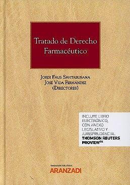 Portada del libro 9788490599976 Tratado de Derecho Farmacéutico (Libro + Ebook)