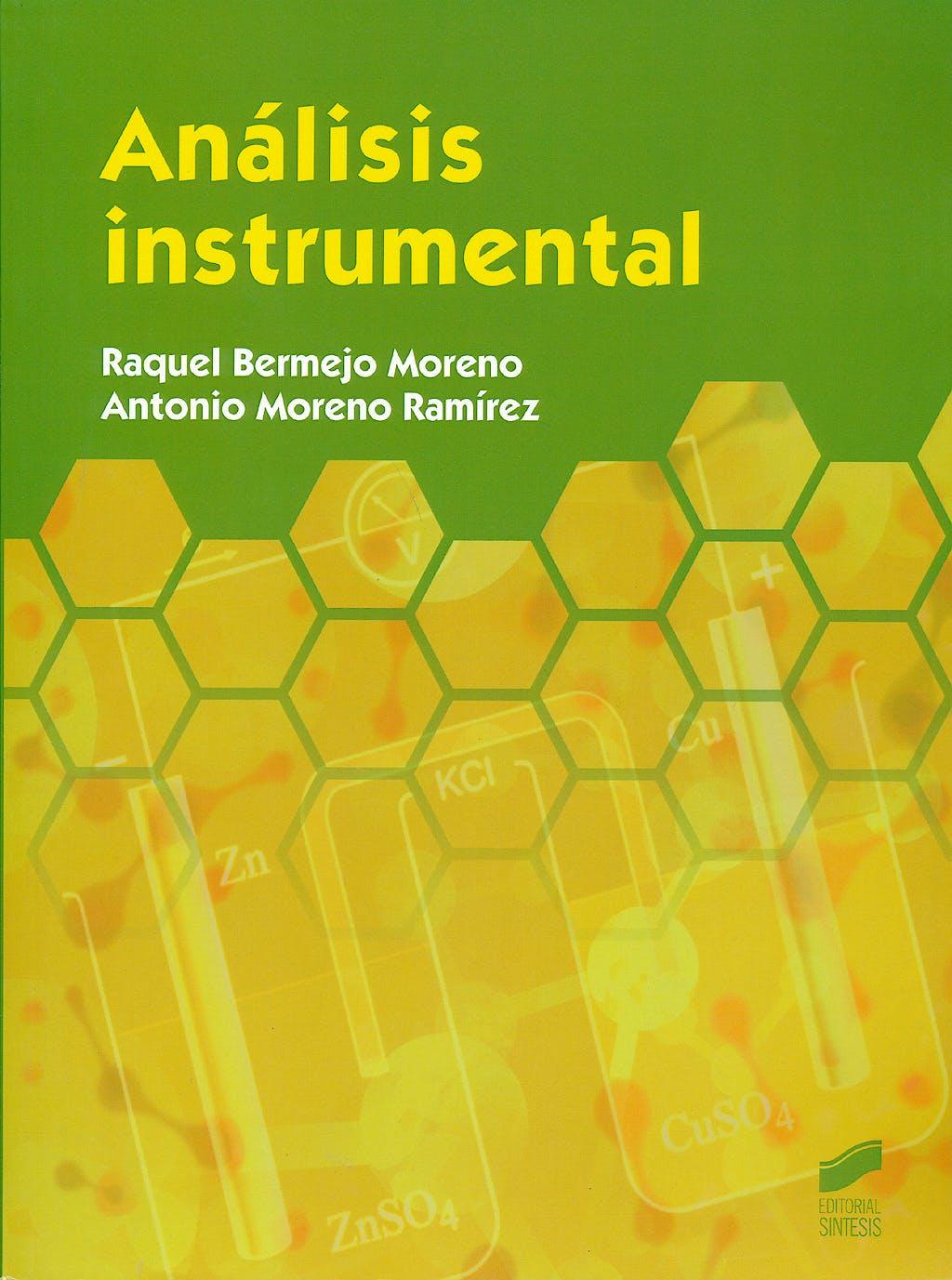 Portada del libro 9788490770337 Analisis Instrumental