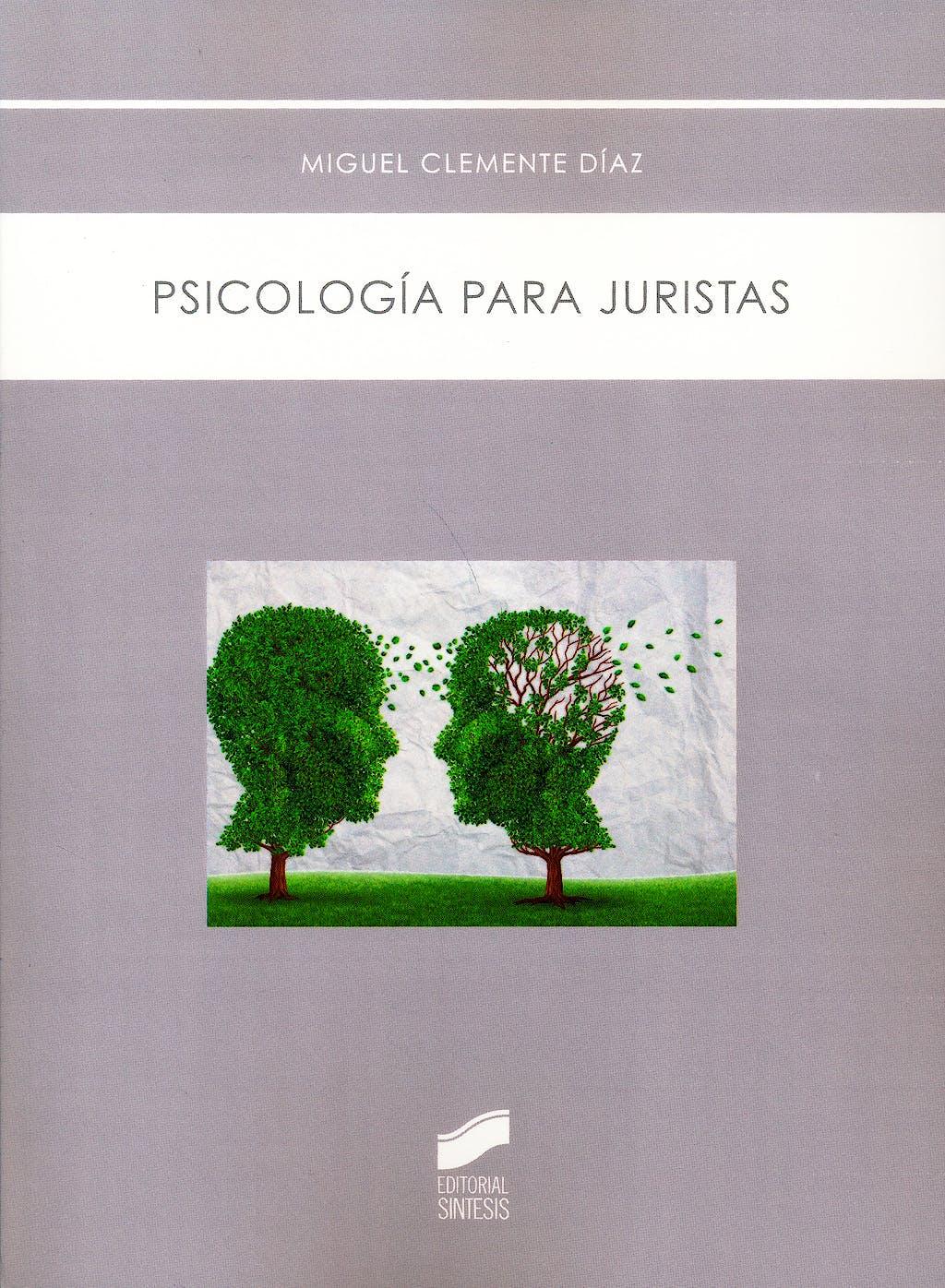 Portada del libro 9788490772607 Psicología para Juristas