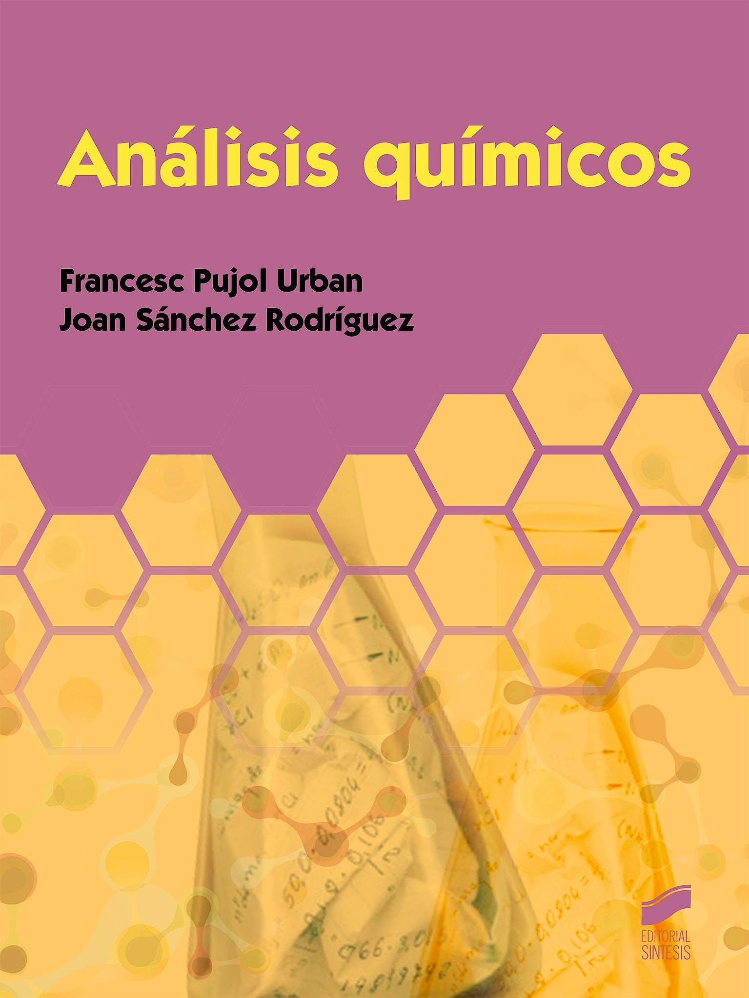 Portada del libro 9788490776926 Analisis Quimicos