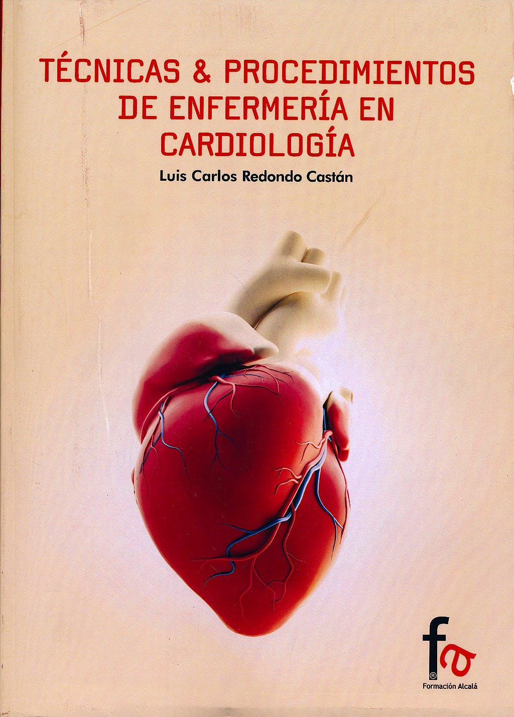 Portada del libro 9788490880395 Tecnicas y Procedimientos de Enfermeria en Cardiologia