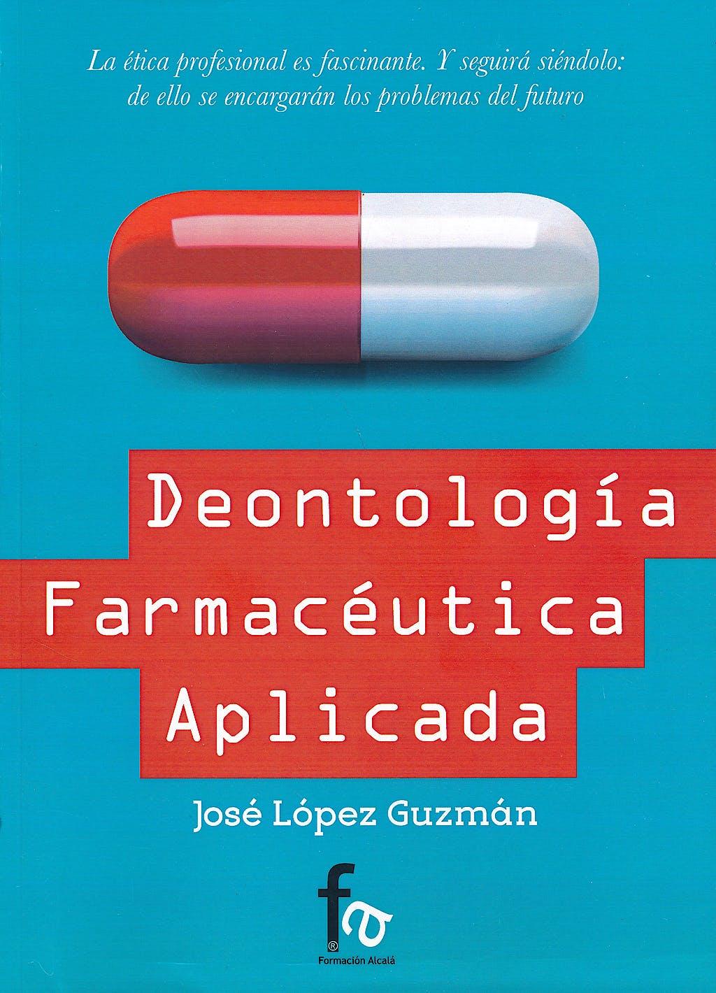 Portada del libro 9788490880890 Deontologia Farmaceutica Aplicada