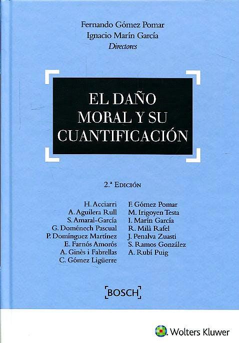 Portada del libro 9788490902202 El Daño Moral y Su Cuantificación