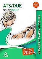 Portada del libro 9788490931790 ATS/DUE Servicio Canario de Salud (SCS). Temario, Vol. 1