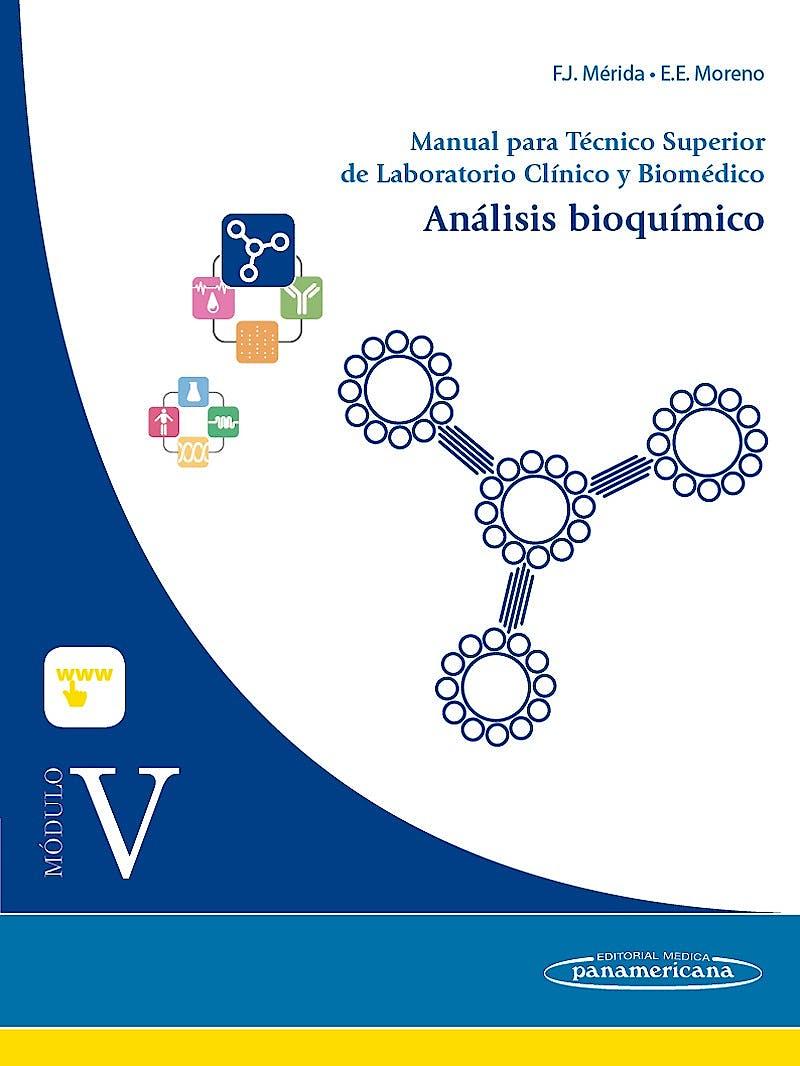 Portada del libro 9788491100041 Manual para Tecnico Superior de Laboratorio Clinico y Biomedico, Modulo V: Analisis Bioquimico