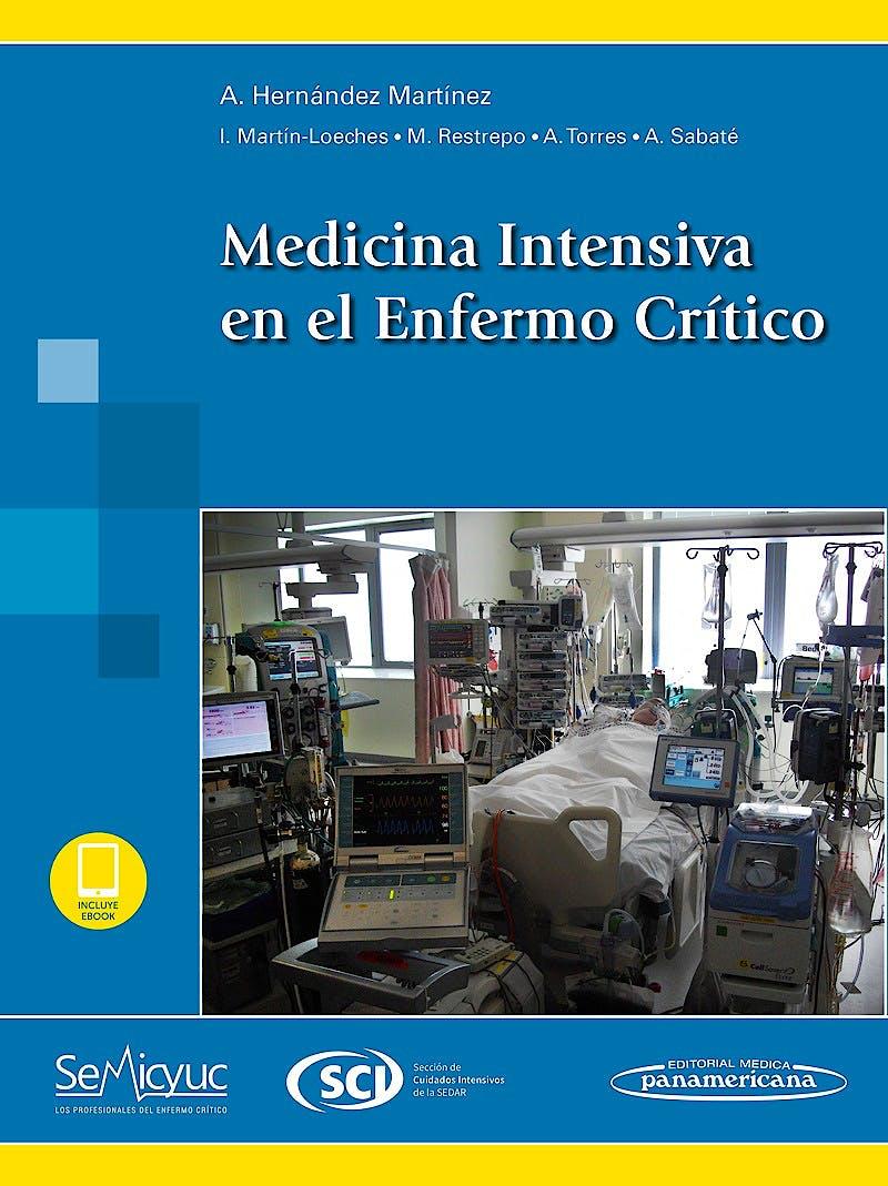 Portada del libro 9788491100409 Medicina Intensiva en el Enfermo Crítico (Incluye E-Book)