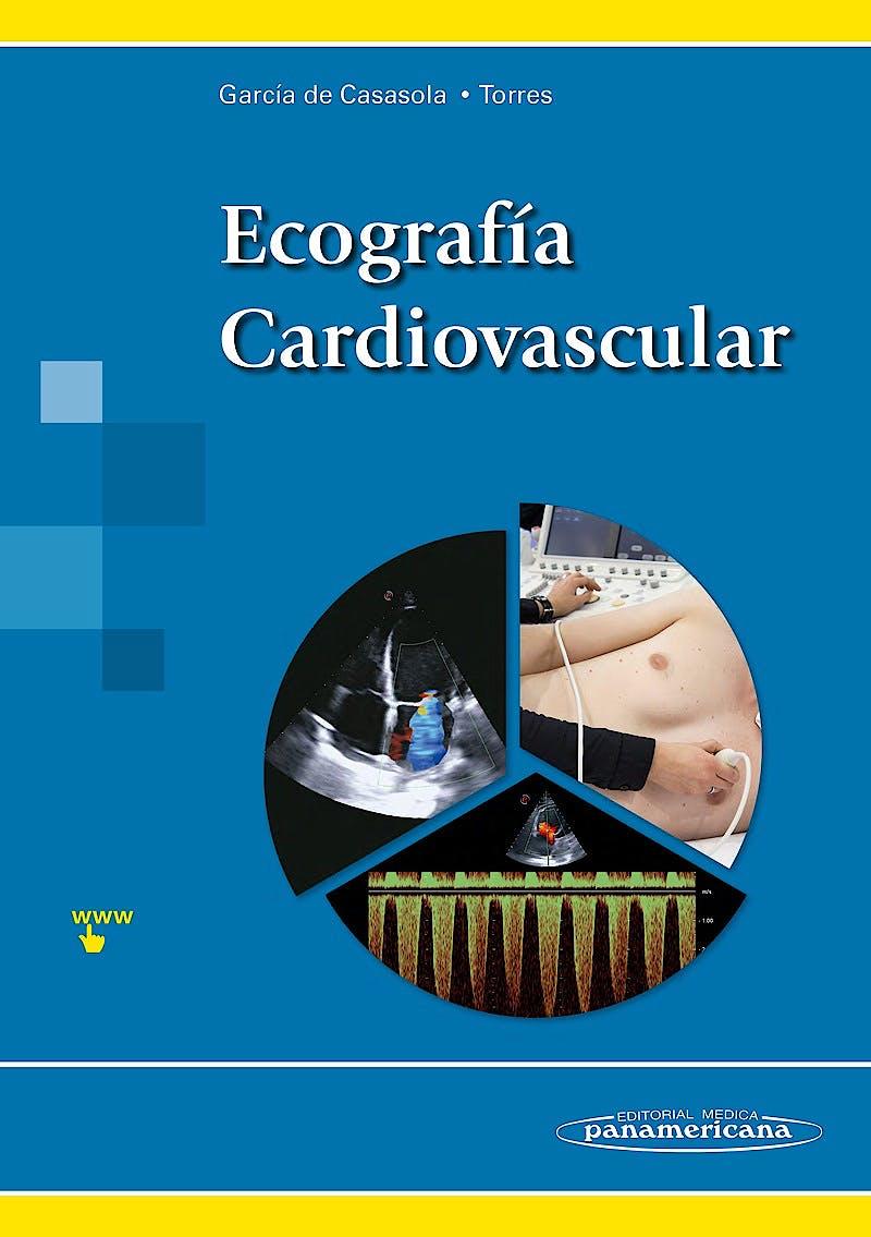 Portada del libro 9788491101284 Ecografía Cardiovascular