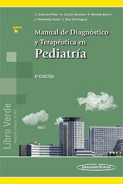Portada del libro 9788491101314 Manual de Diagnóstico y Terapéutica en Pediatría **Libro en Formato Ebook Online**
