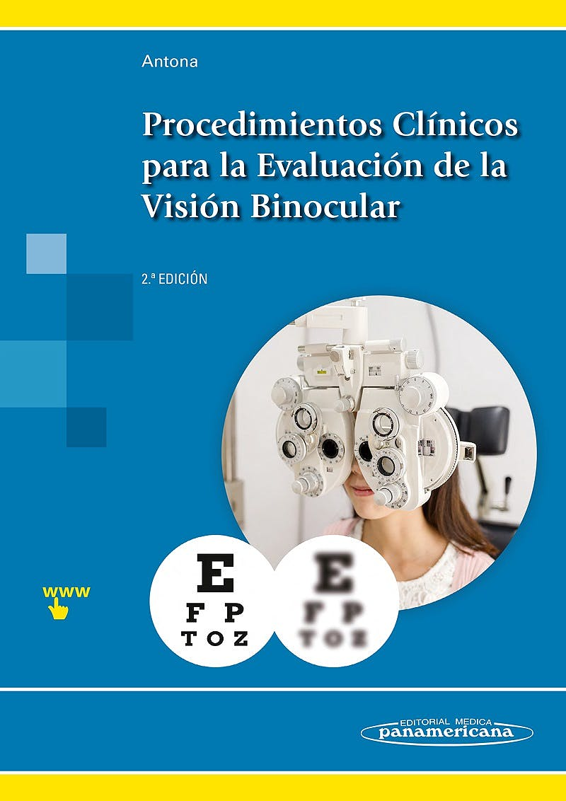 Portada del libro 9788491101376 Procedimientos Clínicos para la Evaluación de la Visión Binocular