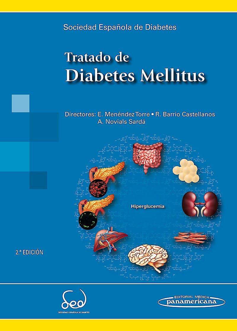 Portada del libro 9788491101451 Tratado de Diabetes Mellitus