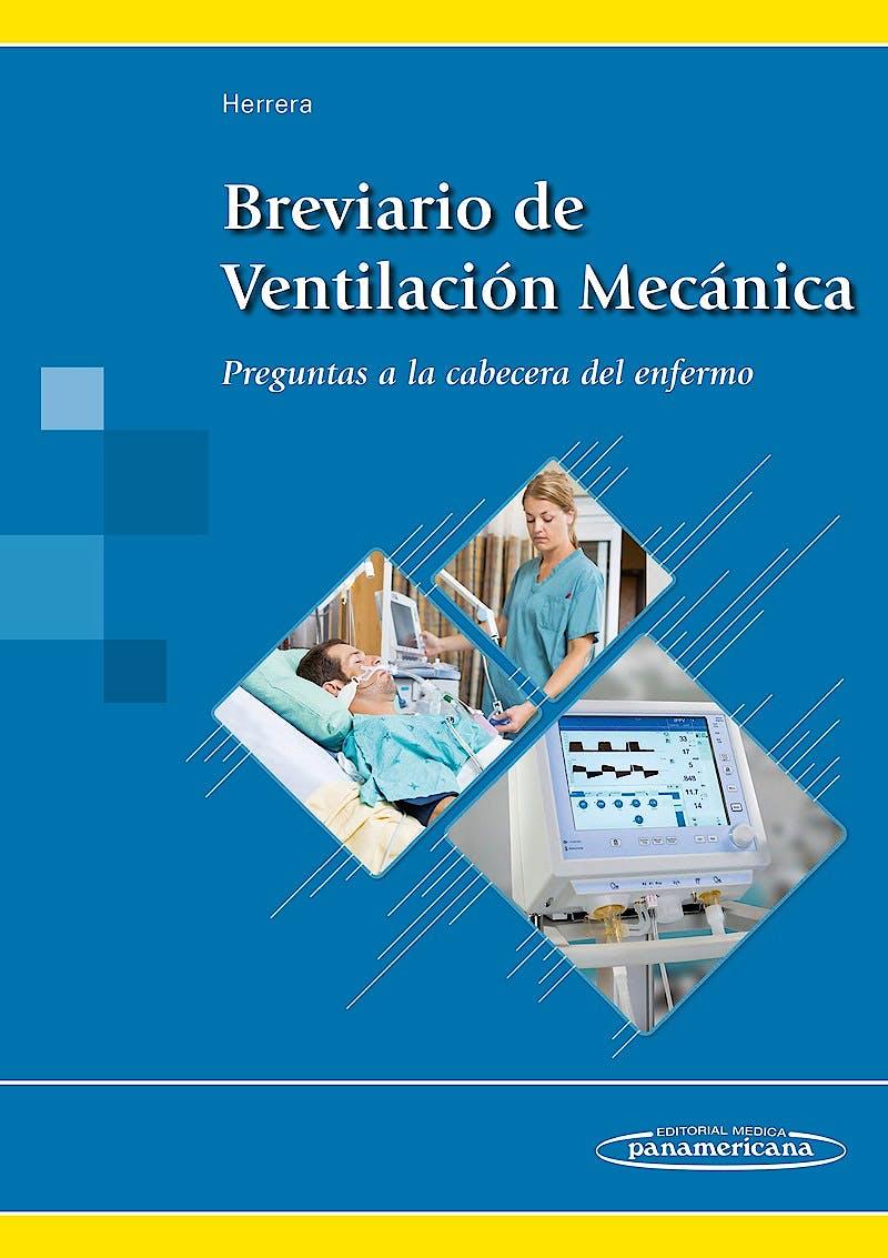 Portada del libro 9788491101888 Breviario de Ventilación Mecánica. Preguntas a la Cabecera del Enfermo