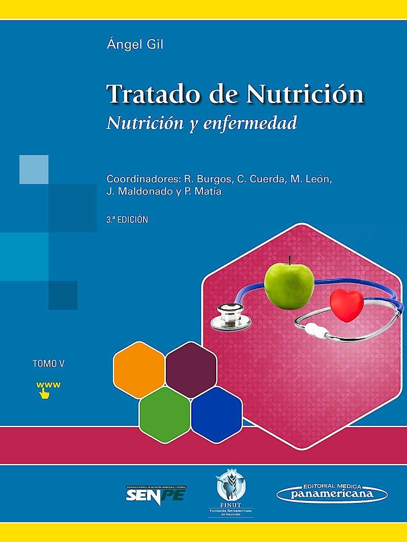 Portada del libro 9788491101949 Tratado de Nutrición, Tomo 5: Nutrición y Enfermedad