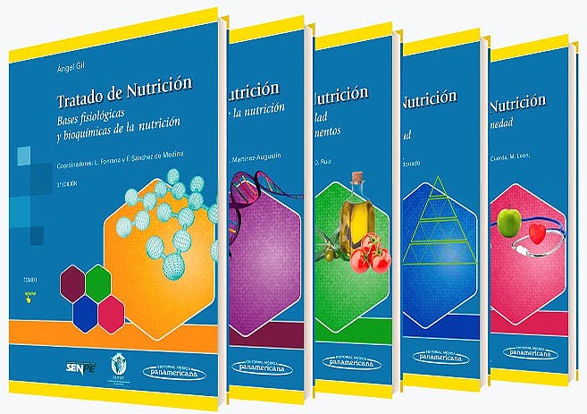 Portada del libro 9788491101956 Tratado de Nutrición, 5 Tomos