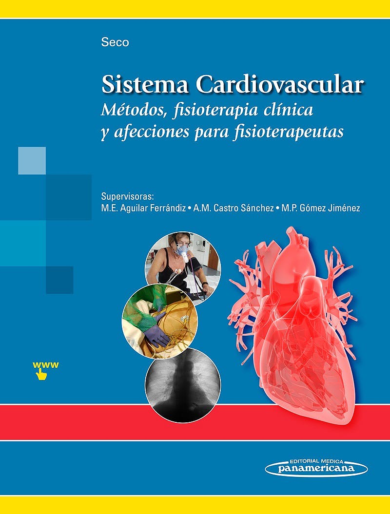 Portada del libro 9788491102014 Sistema Cardiovascular. Métodos, Fisioterapia Clínica y Afecciones para Fisioterapeutas