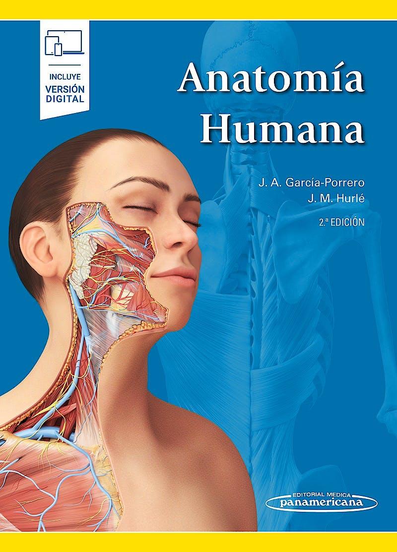 Portada del libro 9788491102106 Anatomía Humana (Incluye Versión Digital)