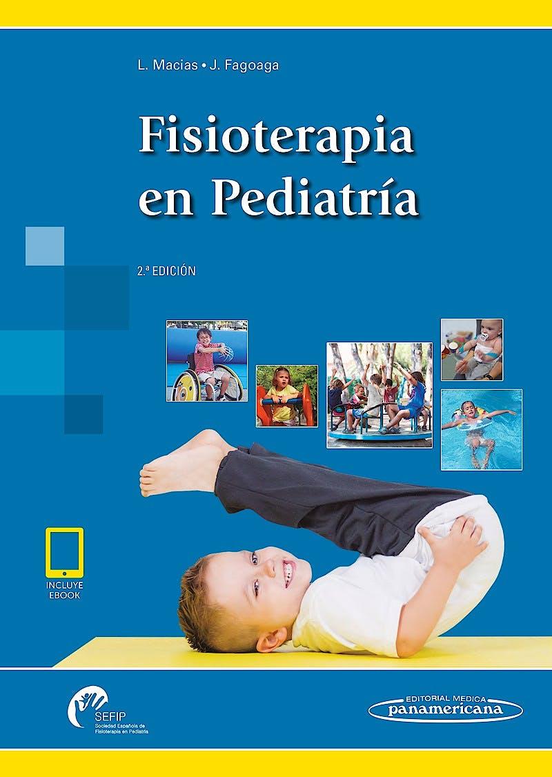 Portada del libro 9788491102120 Fisioterapia en Pediatría (incluye eBook)