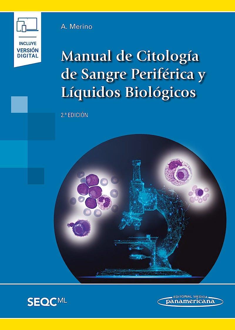 Portada del libro 9788491102625 Manual de Citología de Sangre Periférica y Líquidos Biológicos (Incluye Versión Digital)