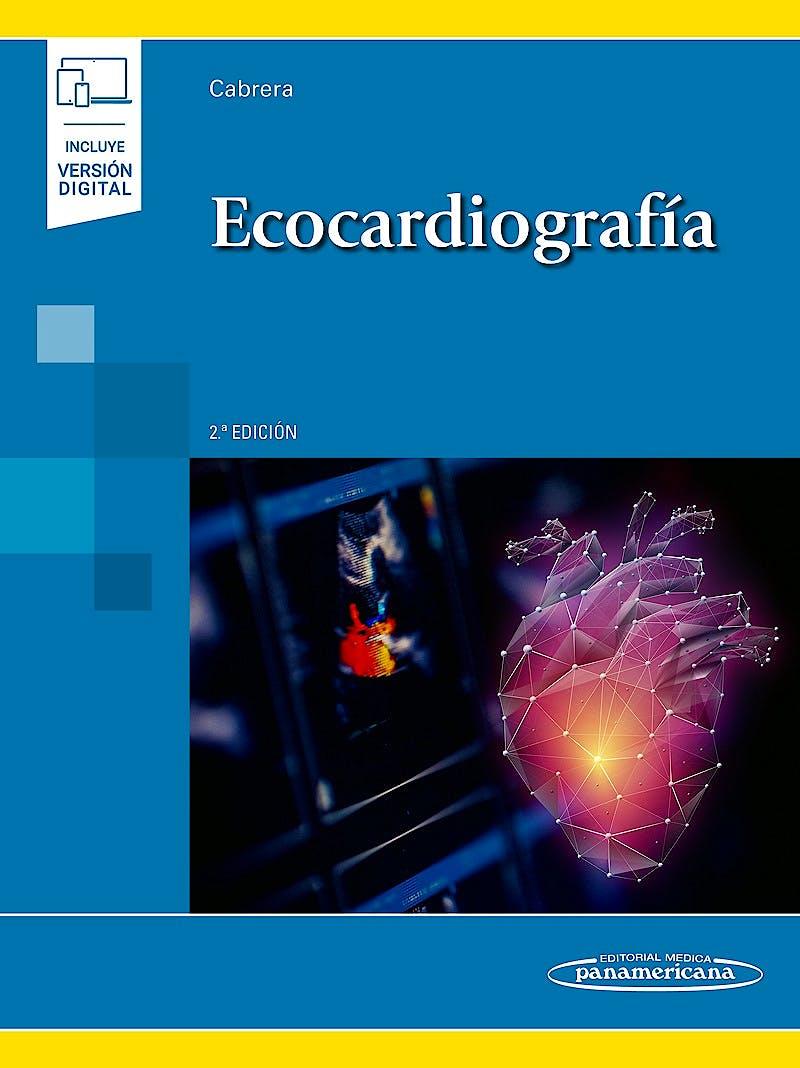 Portada del libro 9788491103554 Ecocardiografía (Incluye Versión Digital)
