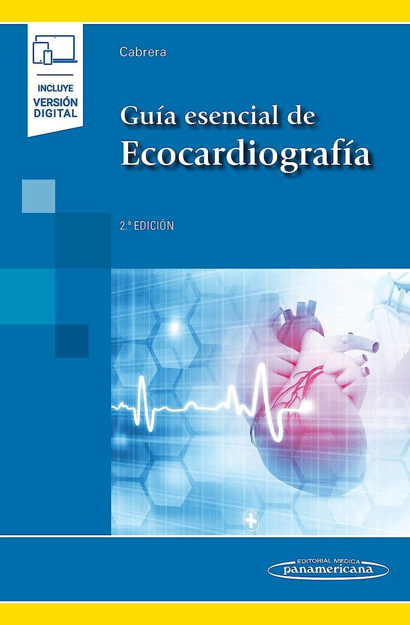 Portada del libro 9788491103578 Guía Esencial de Ecocardiografía (Incluye Versión Digital)