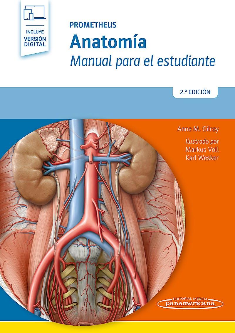 Portada del libro 9788491103608 PROMETHEUS Anatomía. Manual para el Estudiante (Incluye Versión Digital)