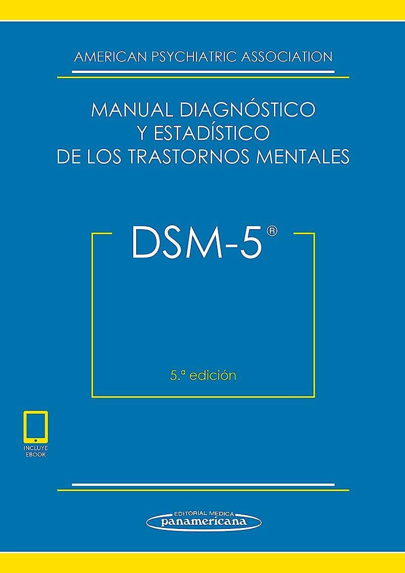 Portada del libro 9788491103721 DSM-5 Manual Diagnóstico y Estadístico de los Trastornos Mentales (incluye eBook)
