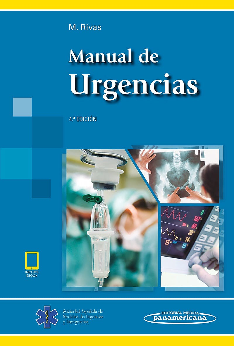 Portada del libro 9788491103899 Manual de Urgencias (Incluye eBook)**mas Ejemplares en Septiembre*