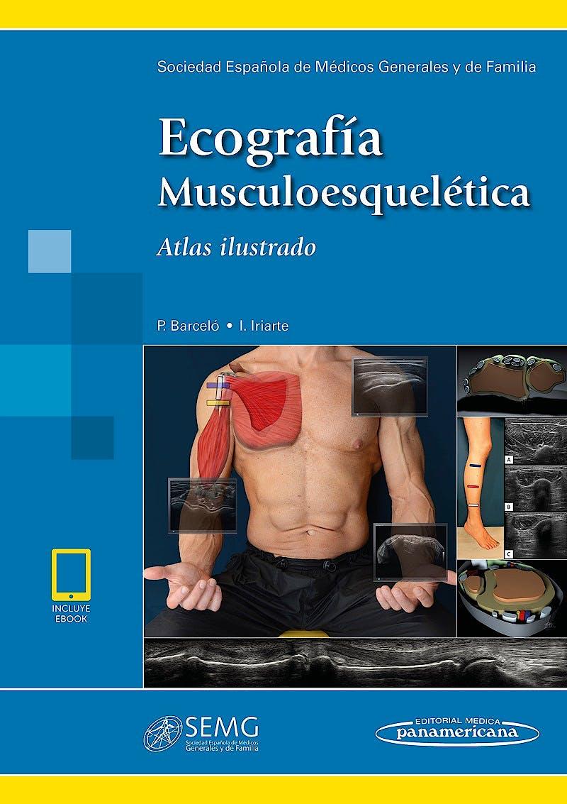 Portada del libro 9788491104339 Ecografía Musculoesquelética. Atlas Ilustrado (Incluye eBook)