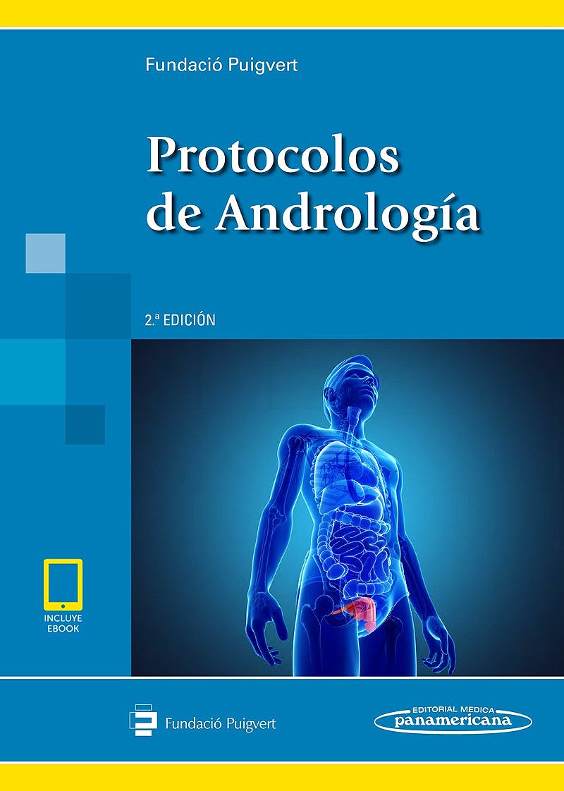 Portada del libro 9788491104575 Protocolos de Andrología (Incluye E-Book)
