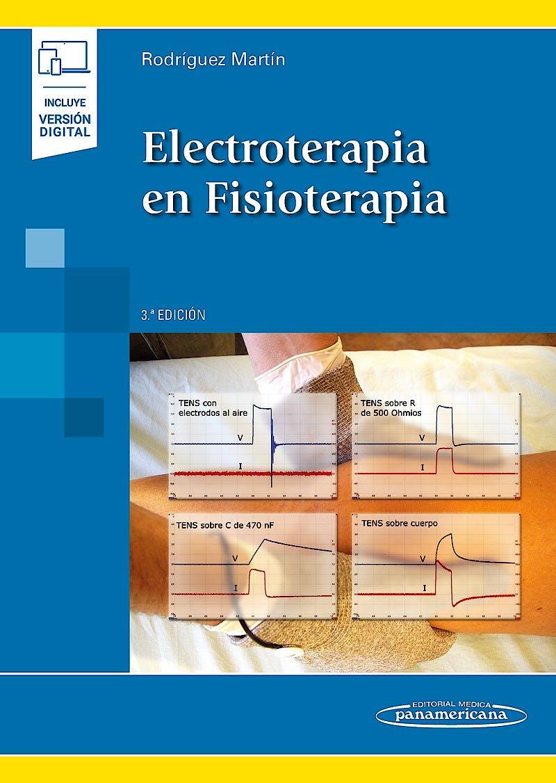 Portada del libro 9788491104605 Electroterapia en Fisioterapia (Incluye Versión Digital)