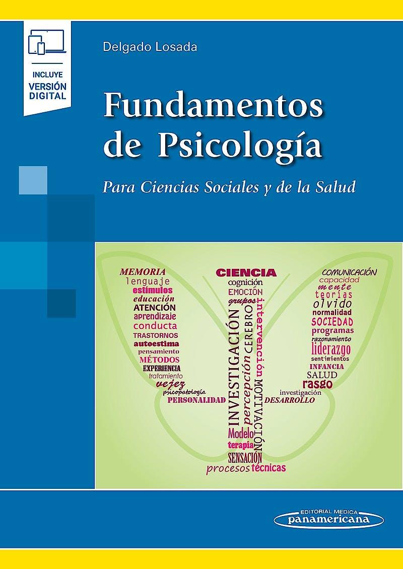 Portada del libro 9788491104650 Fundamentos de Psicología para Ciencias Sociales y de la Salud (Incluye Versión Digital)