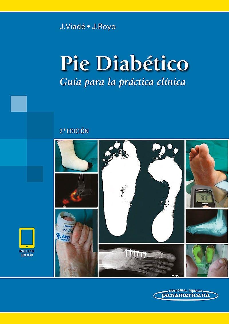 Portada del libro 9788491104780 Pie Diabético. Guía para la Práctica Clínica (Incluye Ebook)