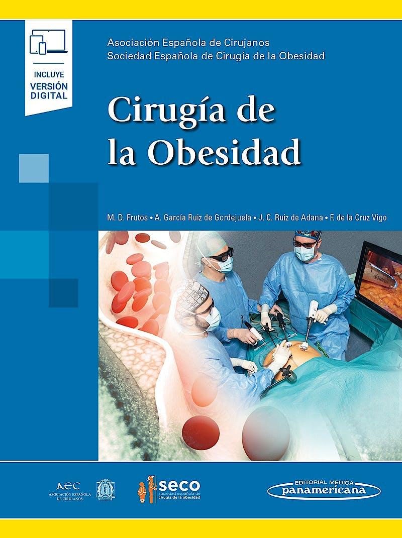 Portada del libro 9788491105176 Cirugía de la Obesidad (Incluye Versión Digital)