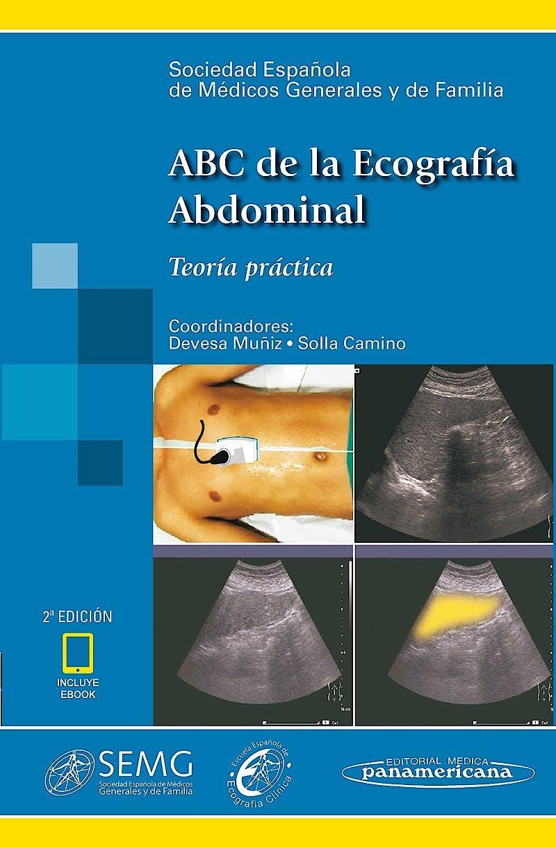 Portada del libro 9788491105206 ABC de la Ecografía Abdominal. Teoría y Práctica (Incluye E-Book)